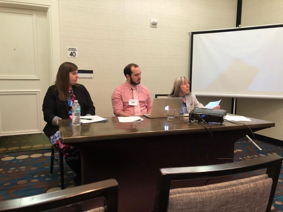 Members from Radford University present papers
